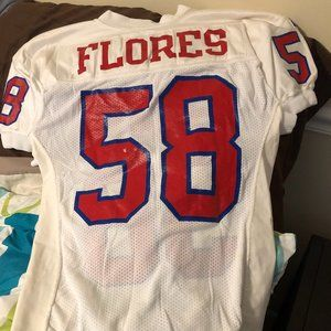 Other - Game worn SMU jersey (Flores) size 50